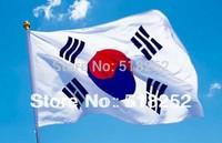150X90CM South Korea Flag 3x5ft Korea National flag Country flag, free shipping