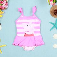 Girl 's Peppa pig Swimsuit/Swimming Costume Bikini Swimwear Cartoon Chlidren Girls Swimsuits