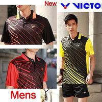 2014 New VICTOR Badminton Team Jerseys Men/ Badminton Clothes / Badminton shirt /Tennis wear 36091