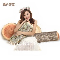 Hot sale tree stump wood pillow  hicken Cushion Backrest Plush Toys Sofa Pillow  birthday present for girlfriend gifts 1pcs