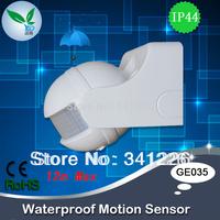 Top Quality Motion detector sensor, 220v waterproof outdoor lighting switch motion sensor, Light motion sensor (GE035)