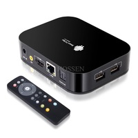 Android TV Quad Core Android 4.2 1.6Ghz Mini TV BOX HDMI HDD Player 2G/8G External Wifi Antenna  IR Remote Controller