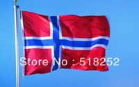 150X90CM  Norway Flag 3x5ft  Norway Country flag National flag, free shipping
