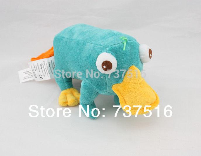 "Stuffed Animals & Plush Phineas & Ferb Perry The Platypus Stuffed Plush 11"" Doll Toy new(China (Mainland))"