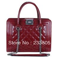 NEW 2014 Women bag leather handbags shoulder bags channel leather bags handbags designers brand B11195