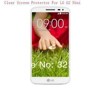 Free Shipping 500pcs/lot Clear Screen Protector Film For LG G2 Mini