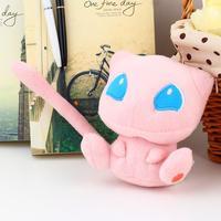New Cute Pokemon Rare Mew Plush Soft Doll Toy Gif DropShipping