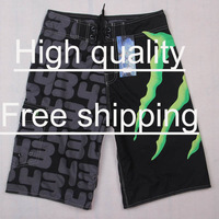 Free Shipping  (Wholesale)  Men's Surf Board Shorts Boardshorts Beach Swim Shorts FQ11