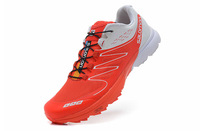 2014 New Arrival Zapatillas Salomon Speedcross 3 Walking Athletic running shoes Salomon S-LAB Sense Ultra sport  footwear