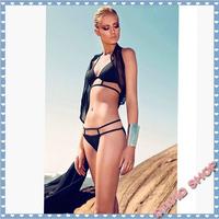 2014 new Free Shipping Drop ship discount swimsuit bikini top push up thong swimwear swimming suit Bandage