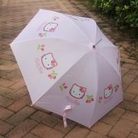 Export kt cat umbrella 3 6 pink little girl child umbrella personalized umbrella