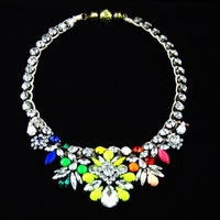 necklaces pendants 2014 Luxury designs shourouk crystal choker necklace vintage braid statement  jewelry