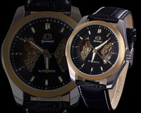 2014 Hot Sale Automatic Men Mechanical Watch Fashion Leather Watch