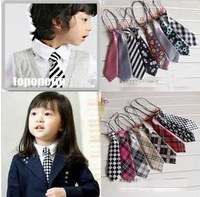 32 Designs Children Ties Necktie Choker Cravat Boys Girls Ties Baby Scarf Neckwear 5pcs/Lot Free shipping