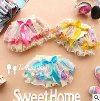 2014 Fashion Kids Girl  Skirts Tutu Sweet Skirt Lace Children  Four Season All-Match Party Free Shipping