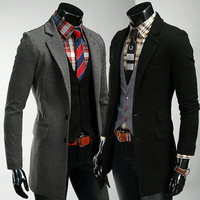 2014 New men's casual jacket hot selling men two button suits Free shipping 135083
