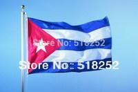 150X90CM Cuba Flag 3x5ft Cuba Country flag National flag, free shipping