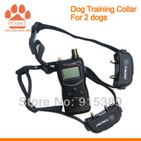 2PCS/LOT Free Shipping 2014 New Remote 1000m Training Collar for 2 dogs 759B-2