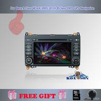 "Koason 7"" 2 Din Car DVD Player For Benz A Class W169/B Class W245, Rear Camera GPS 3D PIP Map  Bluetooth TV Radio Steering Wheel"