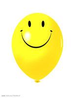100pcs Smile Baloons Birthday party kids toy smiley birthday decoration latex yellow balloon