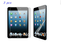 3 pcs New Clear Screen Protector Front Protective Film For Apple iPad Mini Free Shipping