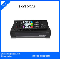 10 Pieces /lot New Original Skybox A4 + GPRS internal / GPRS function original Digital satellite receiver Free shipping