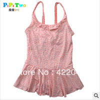 Free shipping children swimsuit,lovely dot swimsuit