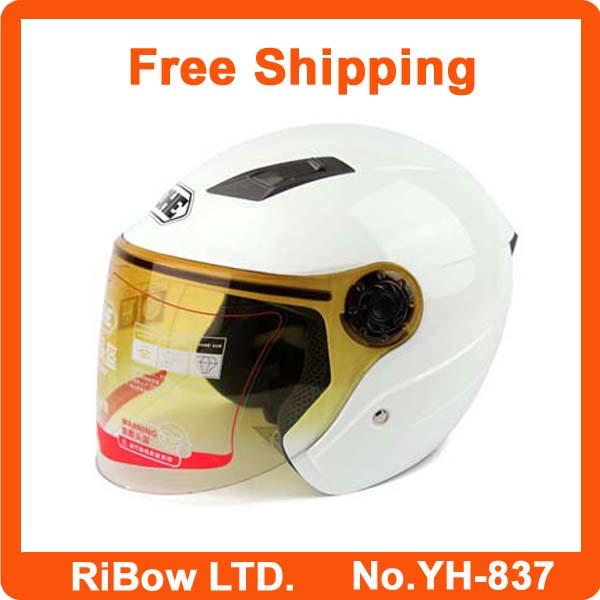 Most Popular Half helmet motorbike motocross motor helmets cross motorcycle racing moto scooter helmet free shipping YH-837(China (Mainland))