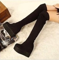 Free Shipping 2014 New Arrival Fashion Winter High Heel Boots,Over The Knee Boots For Women B0014