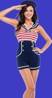 1PC Sexy Sailor Woman Lady Ladies Fancy Dress Costume 88826