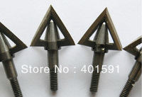Free Shipping 8x 100GR 4-blades steel Aftershock Hunting Bow Arrow Broadheads 2'' cut for sale