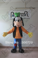 POLE STAR MASCOT COSTUMES quality polyfoam hot sale new dog goofy mascot costumes 2014 hot sale goofy dog mascot costume goofy