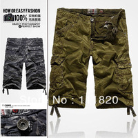 Warrior Shorts Cargo Men Military Army Cargo SHORTS Casual Combat Work Shorts camouflage