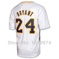 Kobe Bryant 2013 Christmas Day Jersey White Size S-XXXL 24# BRYANT Man Christmas Day 2013 Big Logo Basketball Jersey REV 30