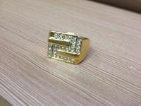 Free shipping Custom gold ice ring