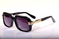 Free shipping Cazal sunglasses 607 too sunglasses kream