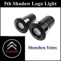 Citroen 7W 5Th car logo door light / ghost shadow lights/ LED car welcome lights