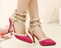 2014 New Flashion high heels Pointed Toe sandals for Women Pumps Fashion J3063