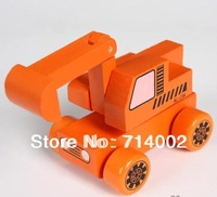 N05 New arrival Wooden Car,Excavator
