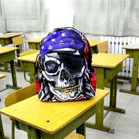Free Shipping Popular America Creative pirate skull backpack designer school bag rucksacks knapsack sport for boys/girls KL-028