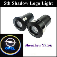 Opel 7W 5Th door light projector ghost shadow light/ LED car welcome lights/ laser lamp