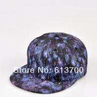 Free Shipping Galaxy SKY STAR snapback caps men's designer baseball caps Hip Hop Strapback snap back