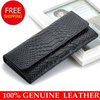cowhide wallets New 2014 crocodile women wallet Genuine Leather designers brand women wallets lady Fashion clutch womens purses