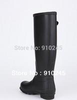 2014 Fashion women rainboots brand H low heels waterproof wellies,Classic A rain boot,woman water shoes plus size Drop shipping