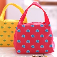 2014 Fashion Animal design zipper cosmetic bag oxford makeup bag receive bag storage bag 25*16*15.cm free shipping