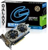 New GALAXY GTX750Ti NVIDIA Maxwell 2GB GDDR5 128bit DirectX 11.2 HDMI DVI DisplayPort 640SP Desktop Graphics Card