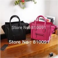 Hot sale !!   imitate genuine leather smiley design  M SIZE  women's totes bag fashion shoulder bag