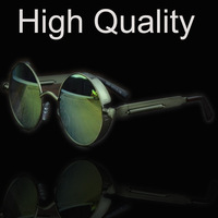 Retro reflective sunglasses for men and women in Europe and America personality STEAM PUNK S886 oculos de sol