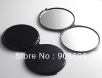 10Pcs 70MM Multicolor  Blank  Compact Mirror Black Color DIY Portable Metal Cosmetic Mirror Wedding Gift - Free Shipping