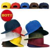 2014 Hot Selling Blank Caps Classic mix color plain snapback hats baseball caps Men women Flat Bill Cap Hip hop cap 20 pcs/lot